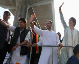 यूपी: लखनऊ में प्रियंका गांधी की रोड शो में उमड़ी भारी भीड़, 'मिशन यूपी' की शुरुआत राहुल ने कहा- यूपी में लानी है कांग्रेस की न्याय वाली सरकार