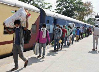 COVID19# श्रमिक स्पेशल ट्रेन से 1203 मजदूरों को सूरत से धनबाद पहुंची