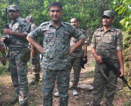 कोडरमा में पुलिस ने 13 आइडी सीरियल बम बरामद किया