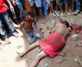 ग्रामीणों ने चोटी कटवा के संदेह पर चार लोगों को पकड़ा, जमकर की पिटाई