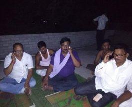 टीएमसी के डर से चुनाव जीते भाजपा प्रत्याशी बंगाल छोड़ बरहरवा में लिया शरण