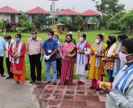 बंगाली कल्याण समिति द्वारा कोबिड वॉरियर को सम्मानित किया