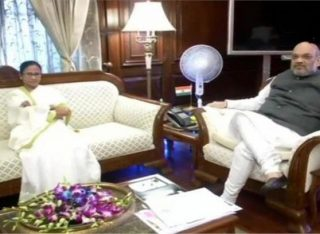 ममता बनर्जी ने अमित शाह से की मुलाकात, कहा-NRC सूची से बाहर लोगों को एक मौका और मिले