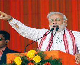 PM मोदी जनसभा को संबोधित करते हुए कहा – अब लोगों ने देखा विकास