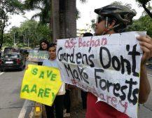 बिग बी के ट्वीट पर हंगामा, घर 'जलसा ' के बाहर विरोध प्रदर्शन