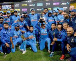 IND vs NZ: भारत ने न्यूजीलैंड को 35 रन से हराया, 4-1 से जीती सीरीज