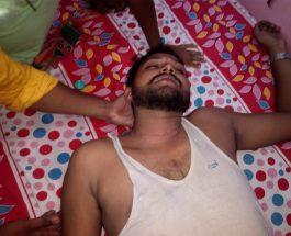 कोलकाता : कांथी में भाजपा अध्यक्ष दिलीप घोष व भाजपा कार्यकर्ताओं पर हमला