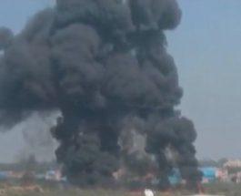 कर्नाटक : एचएएल एयरपोर्ट पर मिराज फाइटर प्लेन क्रैश, दोनों पायलट की मौत