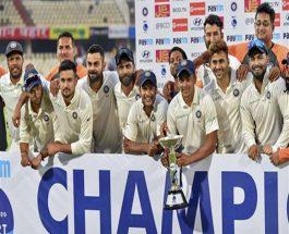 क्रिकेट: इंडिया ने वेस्टइंडीज को़ 10 विकेट से हराकर दूसरा टेस्ट जीता
