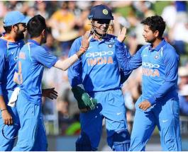 क्रिकेट : नेपियर वनडे में इंडिया ने न्यूजीलैंड को आठ विकेट से हराया
