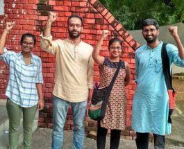 जवाहर लाल नेहरू विश्वविद्यालय छात्रसंघ चुनाव : चारों सीटों पर लेफ्ट की जीत