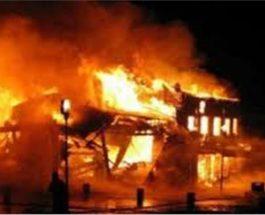 कानपुर : केमिकल फैक्ट्री में लगी आग, लोगों को सांस लेने में हो रही तकलीफ