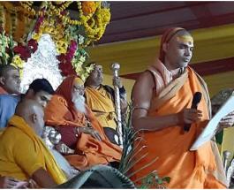 कुम्भ मेला : परमधर्म संसद में 10 फरवरी के बाद अयोध्या कूच व 21 को राम मंदिर शिलान्यास का प्रस्ताव पारित