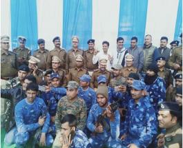 बिहार: मुजफ्फरपुर पुलिस ने मुथूट फाइनेंस डकैती कांड का खुलासा किया, पांच क्रिमिनल अरेस्ट