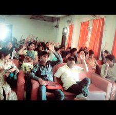 PK रॉय कॉलेज में PG हिंदी की छात्र-छात्राओं का एक हुई बैठक, जिसमें….