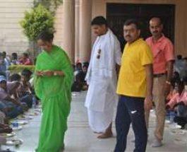 पहली बार जनता के सामने आई पूर्व डिप्टी मेयर नीरज सिंह की पत्नी पूर्णिमा सिंह