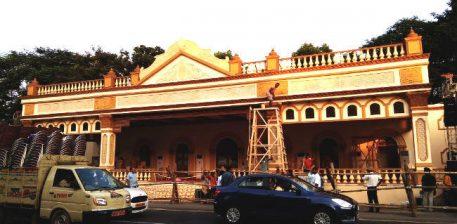 कोलकाता महानगर में रेड रोड पर मेगा पूजा कार्निवल की तैयारियां पूरी