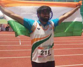 एशियाई पैरा खेलों में संदीप ने भाला फेंक के जीता विश्व रिकार्ड